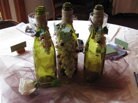 wine themed centerpieces centerpiece for wine theme bridal shower wine themed