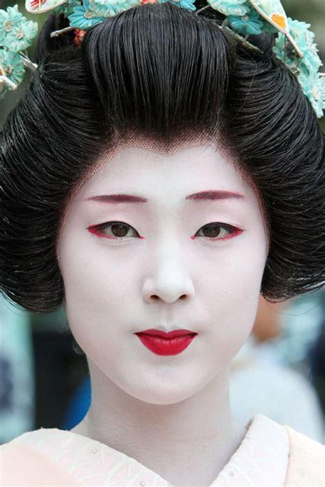 tutorial makeup geisha geisha makeup tutorial and pictures yve style com
