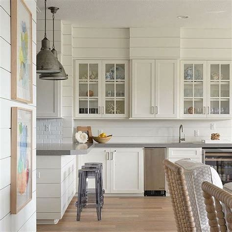 shiplap perfection beautiful butlers pantry designed
