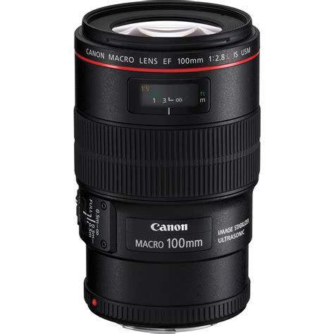 Canon Ef 100mm F 2 8l Is Usm Macro canon ef 100mm f 2 8l macro is usm lens 3554b002 b h photo
