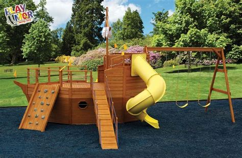 pirate ship landscaping