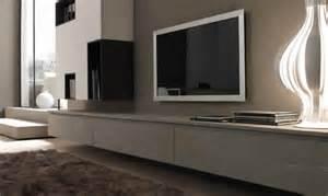 meuble tv suspendu bois meuble tv