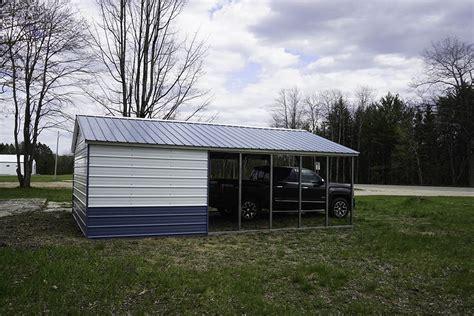 metal carports  sale midwest steel carports garages