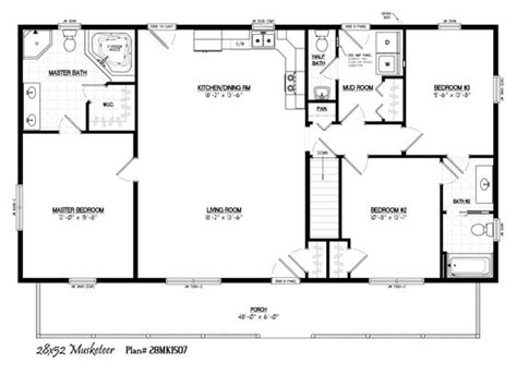 28x48 floor plans 28x48 house plans 28x48 house plans house and home design
