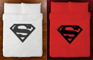 Superman duvet cover bedding queen king twin by showercurtains