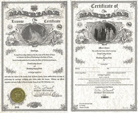 Marriage Records Houston New 1 Marriage License Harris County