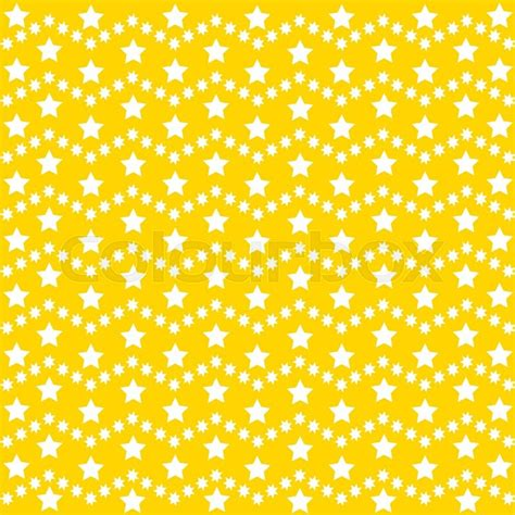 yellow pattern background vector vector star background design cute yellow illustration