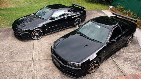 black nissan sports car black cars jdm japanese domestic market nissan skyline r34