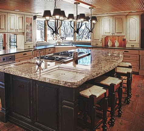 beautiful kitchen island designs 77 custom kitchen island ideas beautiful designs stove