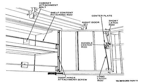 king cabinet parts figure 4 11 wall cabinet removal and installation