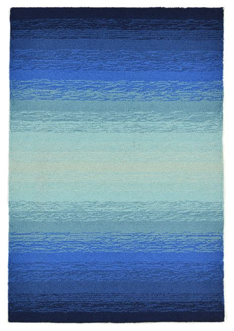 blue ombre area rug ombre blue rug 24 quot x 36 quot contemporary area rugs by zopalo