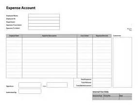 Business Expense Form Template Free Basic Expense Report Template Helloalive