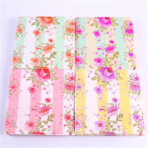 Patterned Tissue Paper Decoupage - sale designs decoupage table paper napkins tissue vintage