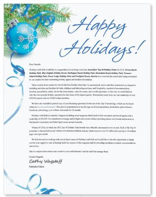 How To Write A Personalized Christmas Message On Behalf Of The Boss Paperdirect Blog Trading Hours Letter Template