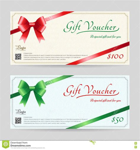 gift card to anywhere template gift card or gift voucher template stock vector