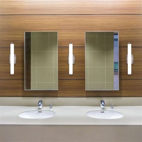 Modern Bathroom Sconces How To Light A Bathroom Vanity Design Necessities Lighting