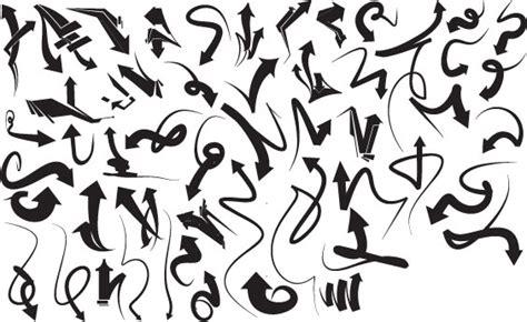 graffiti arrows   ai   vector