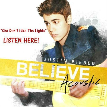 She Don T Like The Lights by 78 Images About Justin Bieber S Album And Single Covers On Around The Worlds Beats