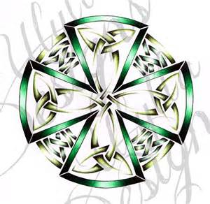 Celtic dara knot tattoo design owned by custom designs but
