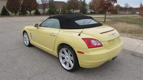 2005 chrysler convertible 2005 chrysler crossfire limited convertible l53