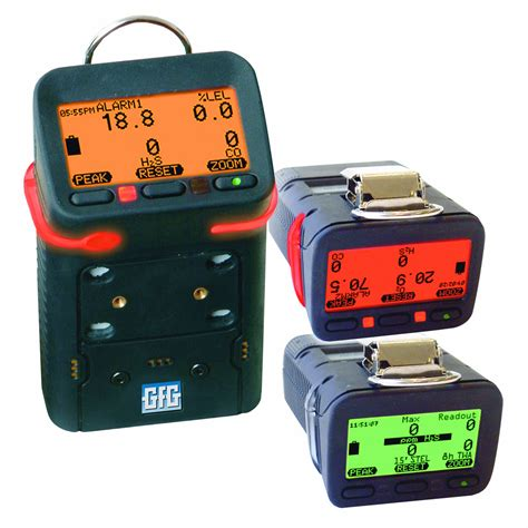 Multi Gas Detector gfg g450 multi gas detector with alkaline battery o2 lel