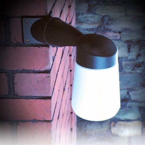 Outdoor Corner Wall Lights Eterna Well Outdoor Led Corner Wall Light Black Lyco Direct