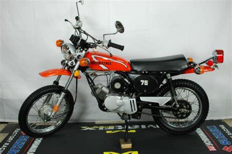 Suzuki Ts 75 Suzuki 1975 Ts 75 Low Mint Condition Out Of