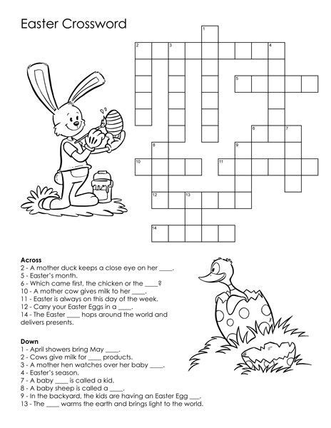 Easter Puzzles Best Coloring Pages For Kids