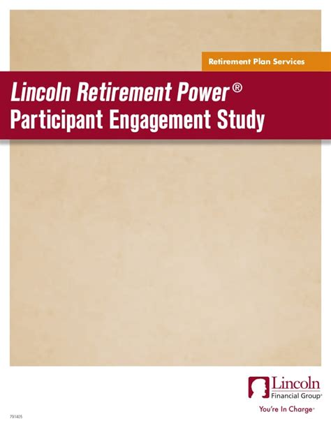 participant engagement study lincoln financial
