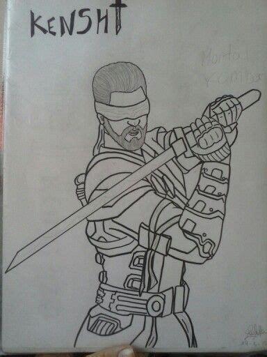 imagenes de mortal kombat para dibujar faciles mortal kombat kenshi mi dibujo my draw dibujos