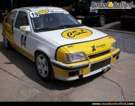 opel race car opel kadett gsi 16v performance trackday cars for sale