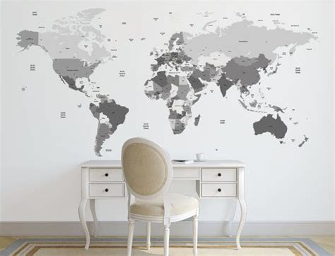 wall stickers map 25 best ideas about world map decal on world