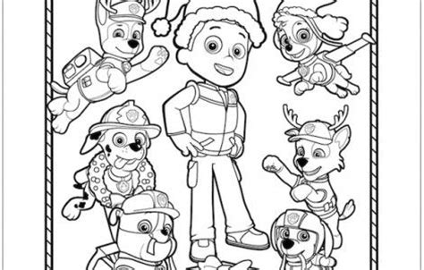 paw patrol team coloring pages 1000 images about kids pictures on pinterest rubble paw