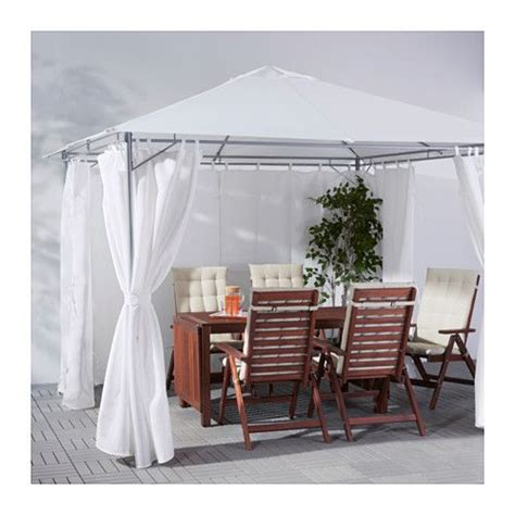 karlso gazebo karls 214 gazebo with curtains 300x300 cm ikea cool 4 u