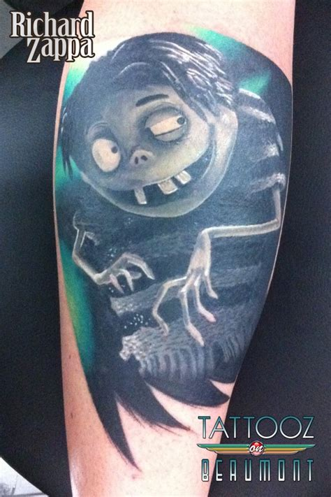 edgar from frankenweenie tattoo by zuludroog on deviantart