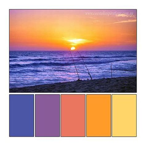 sunset color scheme 10 images about sunset color schemes on