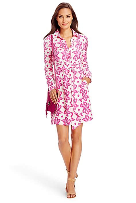 Dress Of The Day Dvf On Sale At Neiman by Dvf Taffy Silk Shirt Dress Landing Pages By Dvf