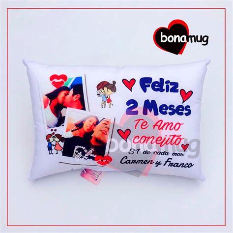 almohadas personalizadas con fotos almohadas cojines personalizadas regalo peluche amor s