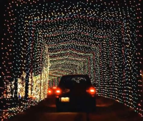 texas original drive thru christmas park santa land
