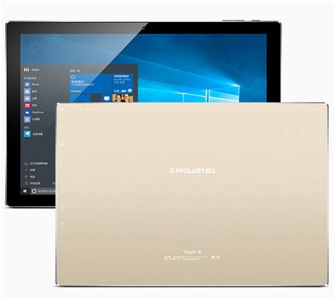 Tablet 10 Inch Os Windows 10 1 inch teclast tbook 10 tbook10 dual os windows 10 android 5 1 tablet pc intel cherry trail