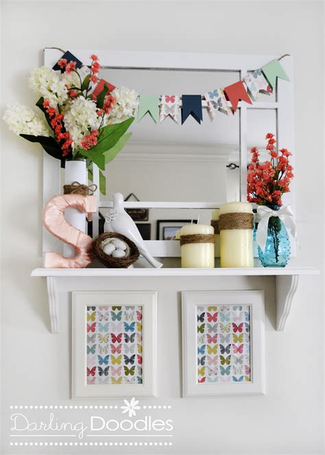 Shelf Decorations by Archives Doodles