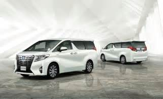 Toyota Aplhard Toyota Unveils New Alphard And Vellfire Minivans In Japan