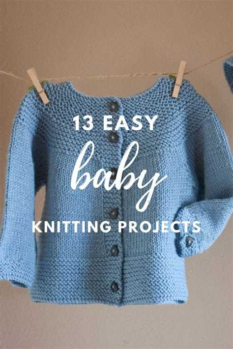easy knit sweater pattern toddler 13 easy baby knitting projects easy babies and baby