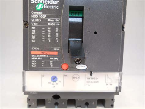 Mccb Mcb Breaker Schneider Nsx 100f 16a Nsx 100f 112 16 3p Ere schneider mccb 100a pole 3 phase 100a merlin gerin nsx100f lv429630 new willrose