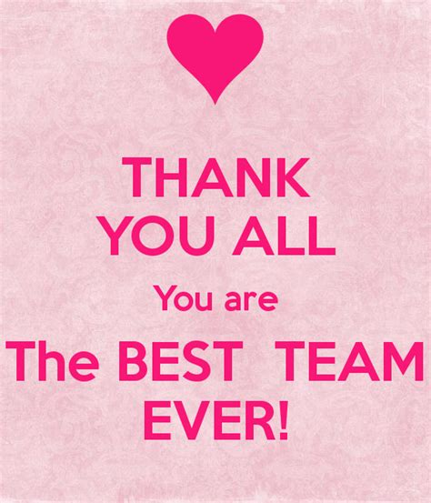 best all thank you all you are the best team poster wafi