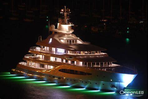 yacht underwater lights oceanled superyacht underwater lights