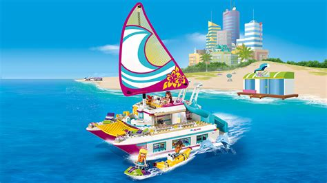 41317 sunshine catamaran products lego 174 friends - Catamaran Lego