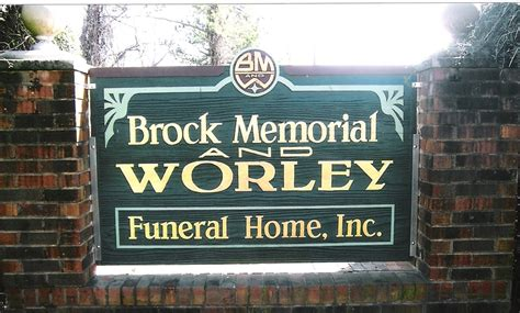 brock memorial worley funeral home inc clinton nc