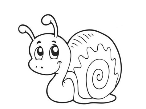 snail coloring pages 171 funnycrafts