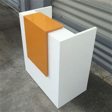 small white reception desk reception desks for offices custom reception counters